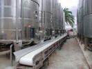 Сортировка и обработка винограда, стеблей и выжимок
