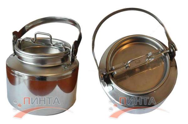 Бидон 5 литров, нержавеющая сталь - лучший выбор для пищевых продуктов