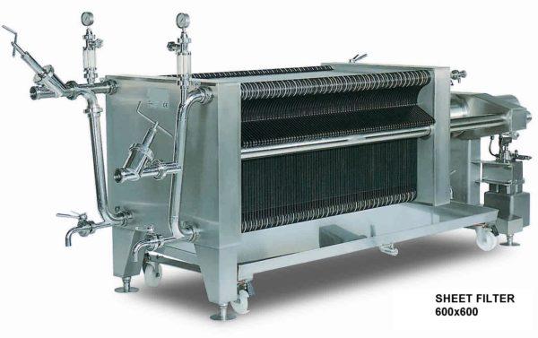 Пластинчатый фильтр 600х600 — 150 пластин 1
