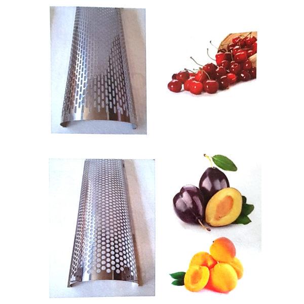 Нержавеющий косточкоотделитель для ягод, фруктов и овощей с мотором, 2 нерж сетки мод
