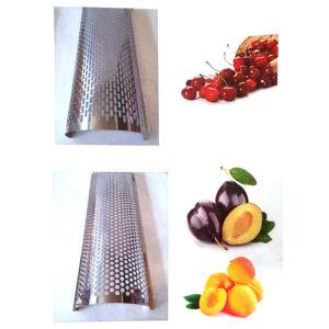 Нержавеющий косточкоотделитель для ягод, фруктов и овощей с мотором, 2 нерж сетки мод. DENI