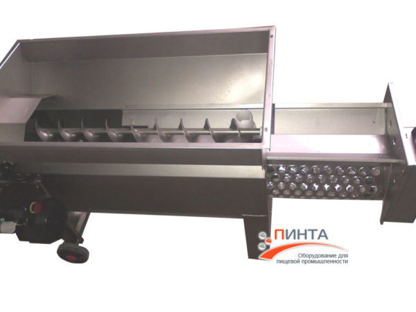 Дробилка гребнеотделитель модель ARNO 15, версия из нержавеющей стали, с электродвигателем и мезганасосом 3