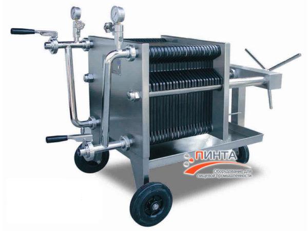 Пластинчатый фильтр 400х400 — 20 пластин 1