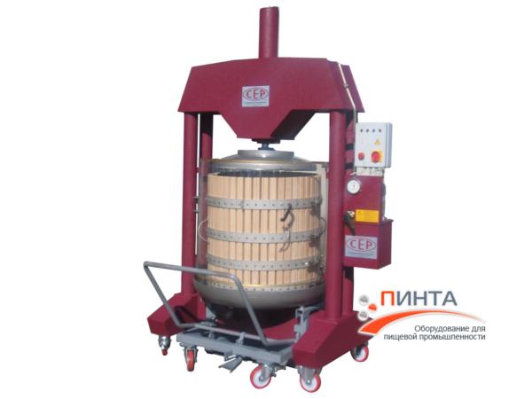 Корзиночный пресс для винограда 500 литров 1