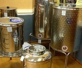 Емкости для брожения и хранения вина