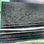 Фильтровальные листы ссодержаниемактивированного угля 3